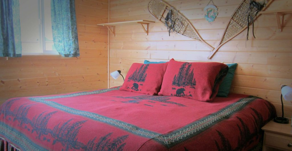 Alaska bear viewing guest accommodations